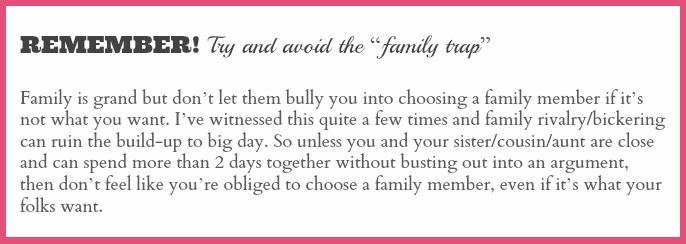 family trap wedding