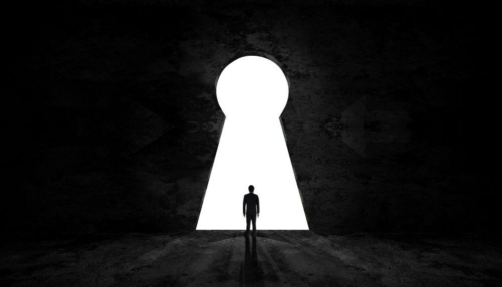 virtual escape room keyhole
