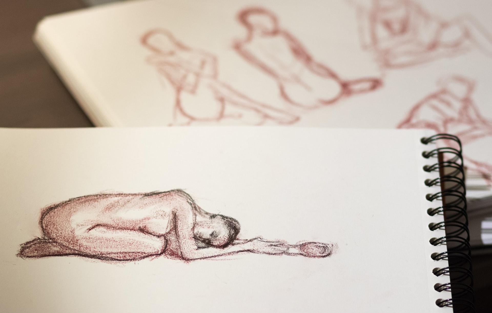 Virtual Nude Life Drawing